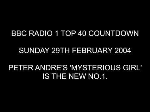 Radio 1 UK Top 40 Countdown - Sunday 29th February 2004