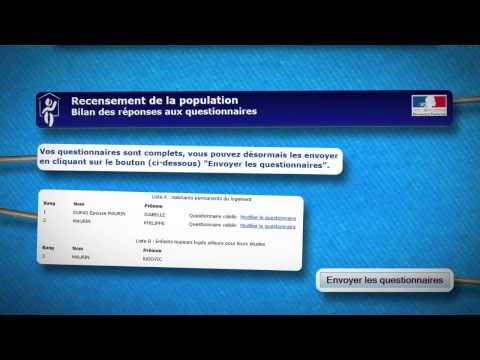 Vidéo LE RECENSEMENT Comment ça marche ? / Institutionnel Internet