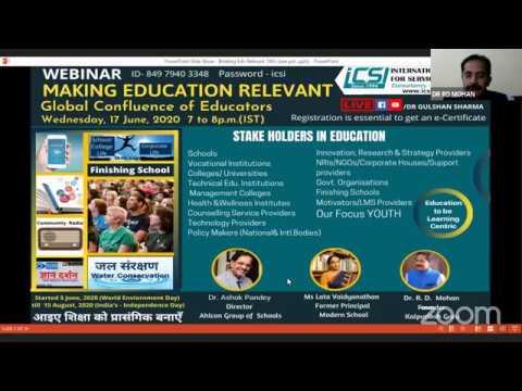 Making Education Relevant   ICSI   18 June