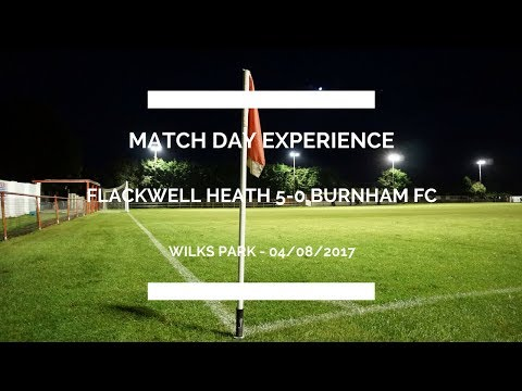 FA CUP ROAD TO WEMBLEY  EXTRA PRELIMINARY ROUND  FLACKWELL HEATH 50 BURNHAM FC