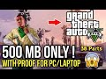 Grand Theft Auto 5 for pc highly compressed in 500 MB for free by Dhruv Gaming