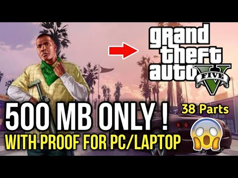 Grand Theft Auto 5 for pc highly compressed in 500 MB for free by Dhruv Gaming - 동영상