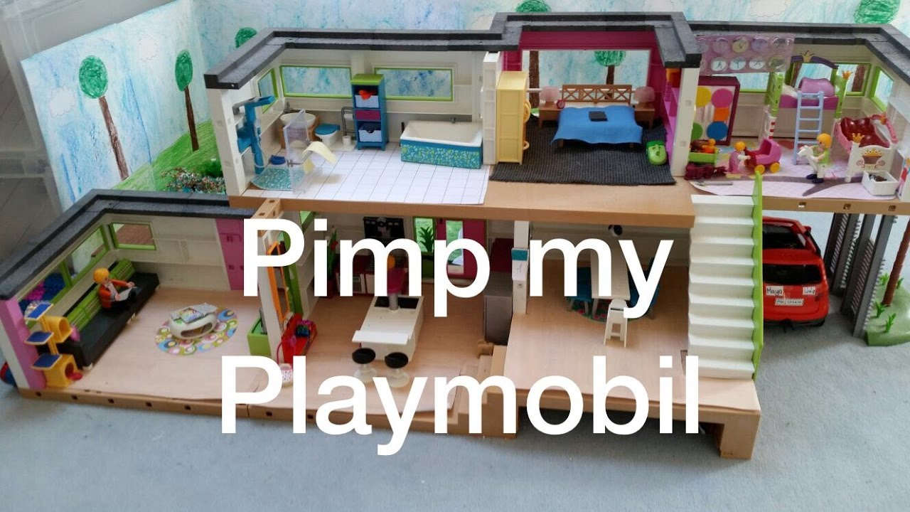 pimp my playmobil playmobil familie tobler youtube. Black Bedroom Furniture Sets. Home Design Ideas