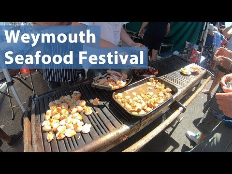 The Pommery Dorset Seafood Festival In Weymouth