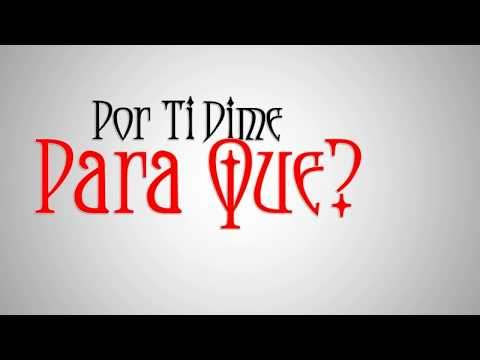 Anahi - Para Que (Official Lyric Video)