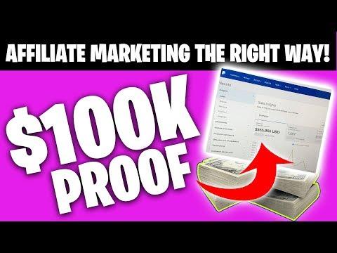 MAKE MONEY Affiliate Marketing FAST! *$100,000 PROOF*