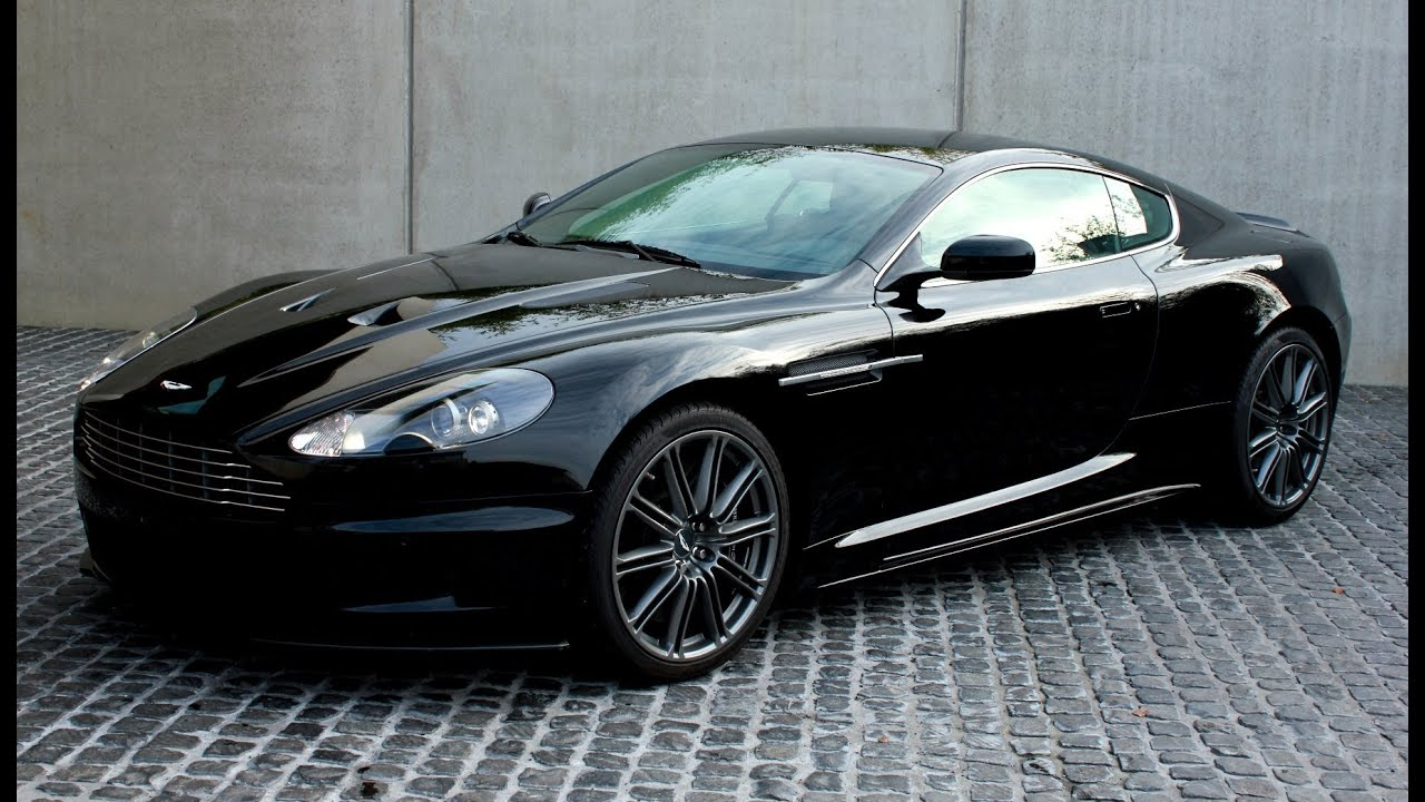 Aston Martin DBS Brutal V Exhaust And Very Loud Sound And Full - Aston martin db
