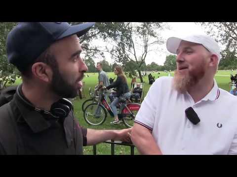 **New** Unproven Creator!? Hamza vs Agnostic   Speakers Corner   Hyde Park