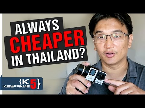 Lazada Thailand Vs Amazon USA: GoPro Price Comparison With Thailand Electronic Stores