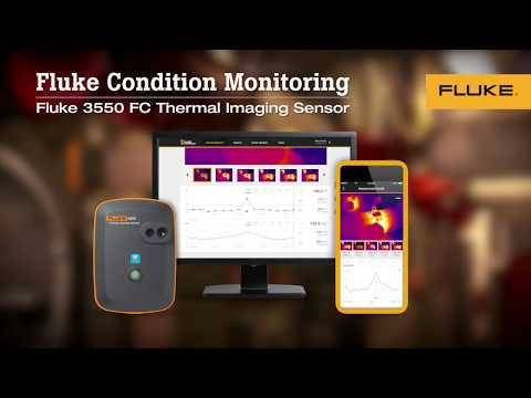 The Fluke 3550 FC Thermal Imaging Remote Monitoring Sensor: A Product Overview