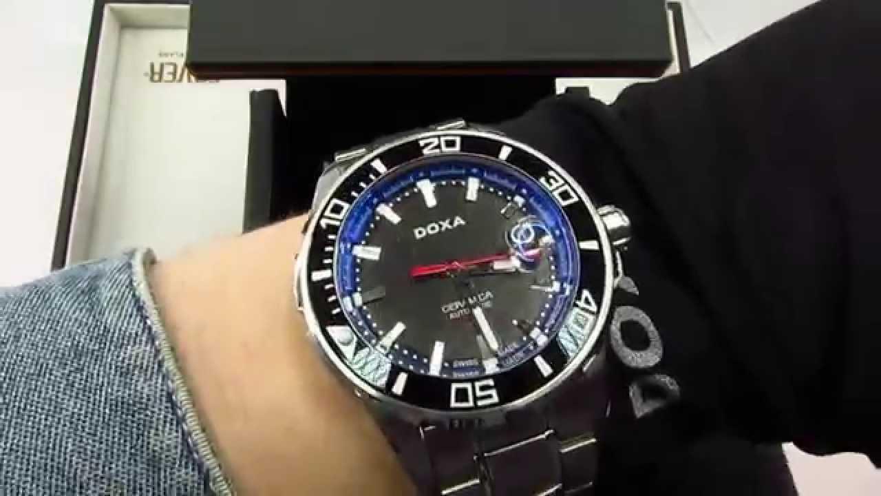 3328d4648 обзор DOXA INTO THE OCEAN D127SBU - YouTube