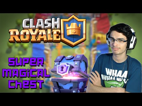SUPER MAGICAL CHEST OPENING - CLASH ROYALE ITA