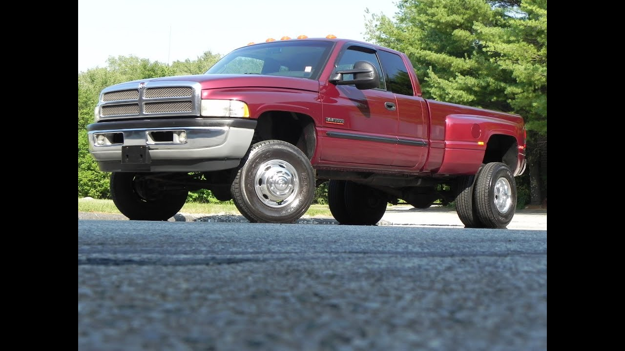 medium resolution of 2001 dodge ram 3500 4x4 extended cab dually 5 9l cummins dually