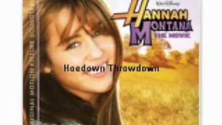 06 Hoedown Throwdown - Miley Cyrus - HM The Movie Soundtrack + Full Album Download