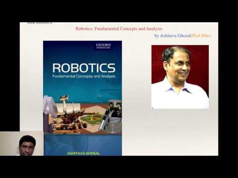 Robotics 1: Introduction, understanding the syllabus, reference book