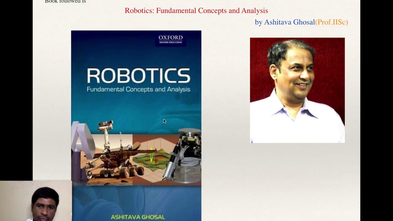 Robotics 1 Introduction Understanding The Syllabus Reference Book