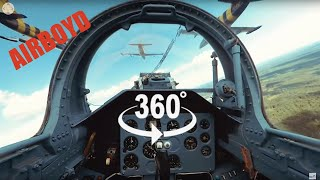 Baltic Bees Jet Team L-39 Formation Flight - 360 Video