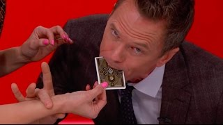 Neil Patrick Harris performs MAGIC for Kristen Bell