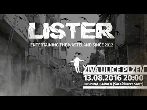 Lister - Živá ulice 2016 - 13. 08. LIVE