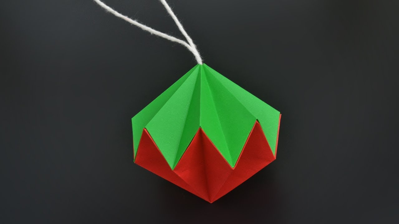 how to make a paper diamond