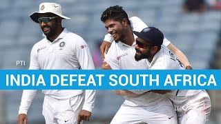 India vs South Africa: Men in Blue clinch Test series, set world record
