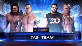 WWE 2K18 #7 แท็คทีมดุเดือด john cena