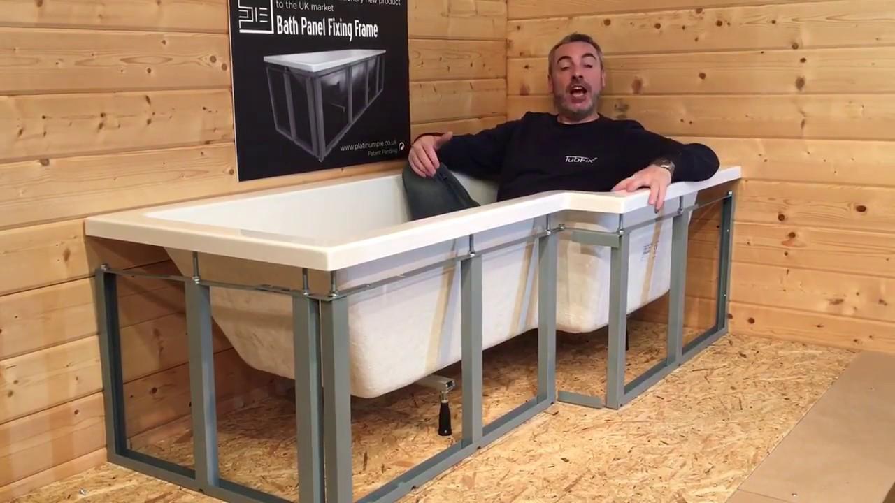 Shower Bath Frame installation kit - YouTube