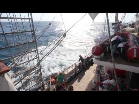 Tall Ship Tenacious -  Antigua to Panama 2016