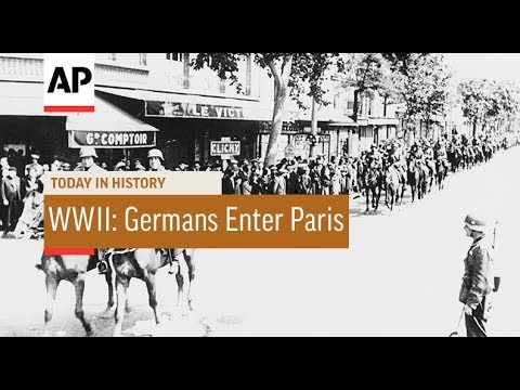 WWII: Germans Enter Paris - 1940   Today In History   14 June 18