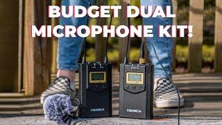 Best Budget Dual Lav Microphone Kit?    Comica CVM-WM100 PLUS Review