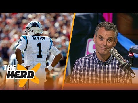 The Patriots' dynasty is almost over, Cam Newton issues an apology - Colin Cowherd reacts | THE HERD