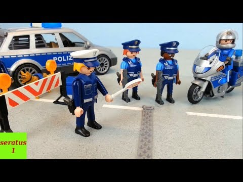 Video Sammlung Nr. 2 Playmobil Polizei Einsätze seratus1 Kommandostation