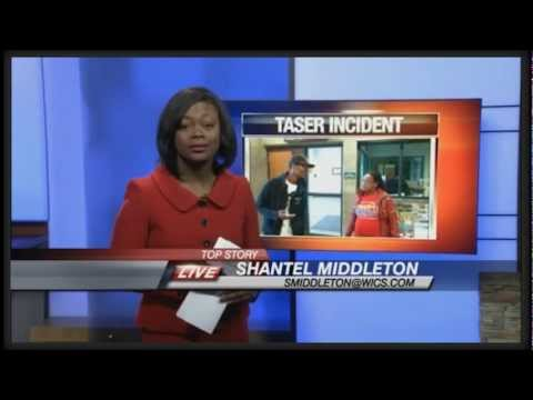 Corruption In Springfield Illinois - Cop Tases Pregnant Lady - News Update