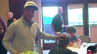 Behind the Scenes with Rickie Fowler