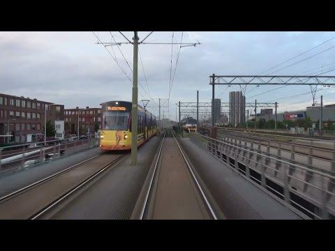 HTM tramlijn 2 Kraayenstein - Leidschendam Noord via Station Holland Spoor   GTL8 3069   4K
