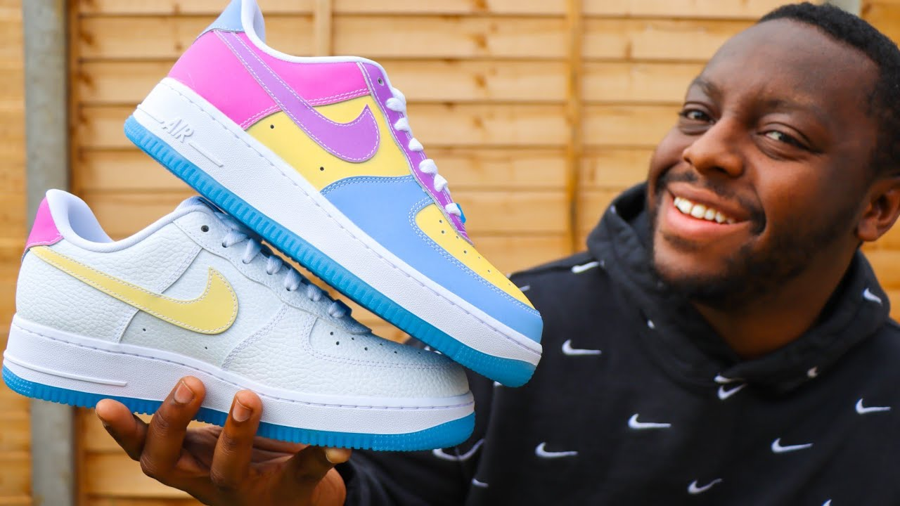Nike Air Force 1 LX UV Color Changing Pack ????✨ Sneaker Review QuickSchopes 201 Schopes DA8301 100 101