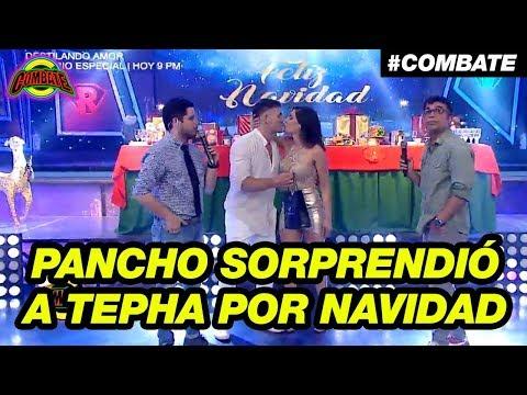 Pancho Rodríguez sorprendió a Tepha Loza con tierno regalo de Navidad