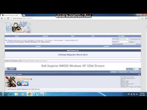how to download dell n4050 drivers