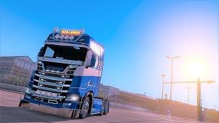 【Euro Truck Simulator 2】TruckersMP/scania S520カスタム/