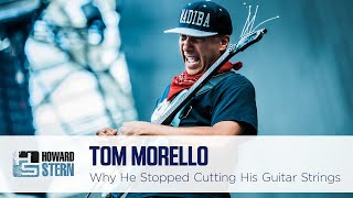 Why Tom Morello Doesn't Cut His Guitar Strings