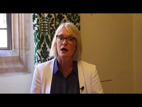 Margot James, UK Minister for Creative Industries, supports the European Women in Games Conference.
