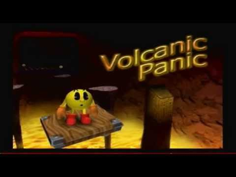 Pac-Man World 2 100% Walkthrough Part 15 - Volcanic Panic