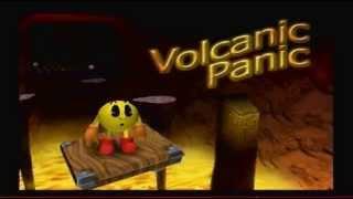 Pac-Man World 2 100% Walkthrough Part 15 - Volcanic Panic