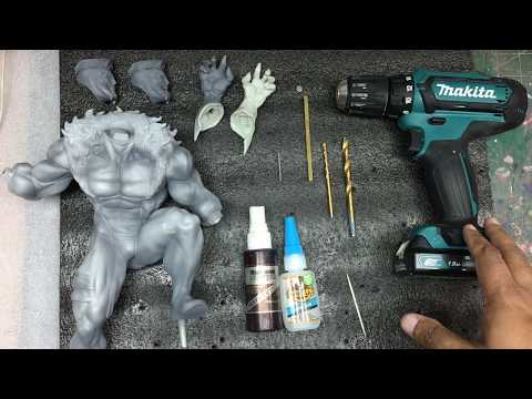 Magnet Installation Tutorial #2 Resin Model Kit/Statue