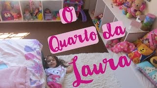 Tour pelo novo Quarto da Laura