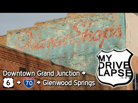 Downtown Grand Junction to Glenwood Springs, Colorado