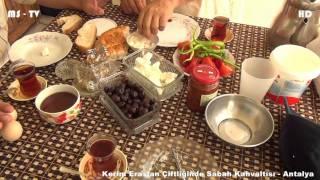 Kerim Eraslan Çiftliğinde Akşam Yemeği ve Sabah Kahvaltısı - Antalya