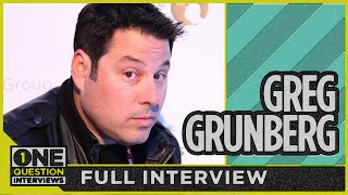 How is Greg Grunberg helping 3 to 5 million Americans by just talking?