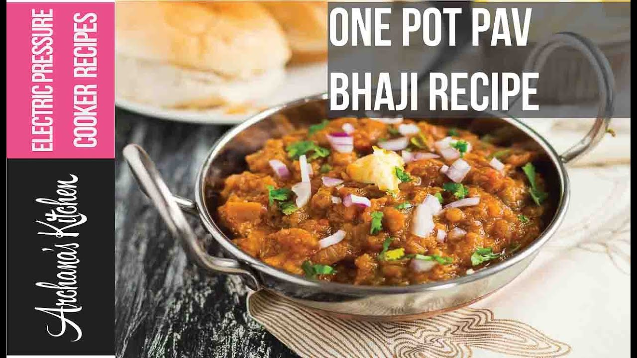 One pot pav bhaji recipe with electric pressure cooker by archanas one pot pav bhaji recipe with electric pressure cooker by archanas kitchen forumfinder Images