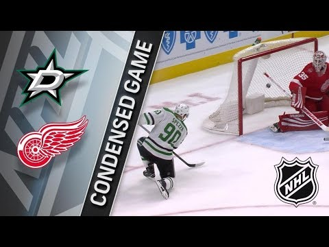 Dallas Stars VS Detroit Red Wings January 16, 2018 HIGHLIGHTS HD